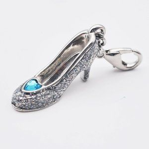 Disney Cinderella Glass Slipper Charm
